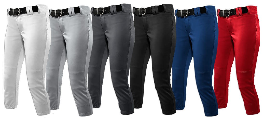 Solid-Colored Standard Softball Pant Options - Primetime