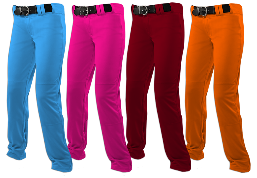 Solid-Colored Softball Pant Options - Primetime Sports Apparel